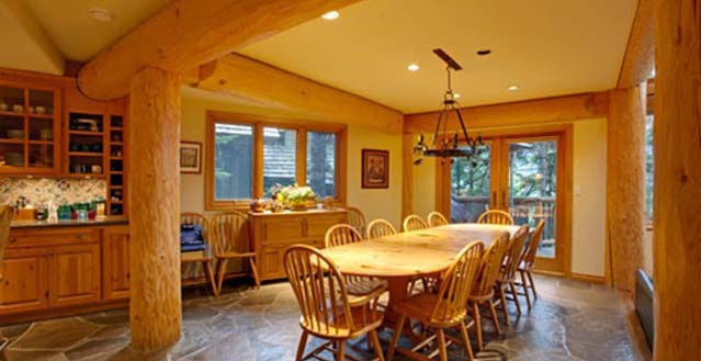 Horstman luxury log chalet whistler holiday letting Whistler cabin rentals