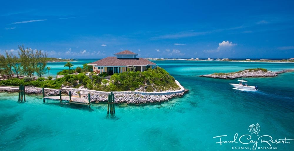 Birdcage Villa Private Island Rental