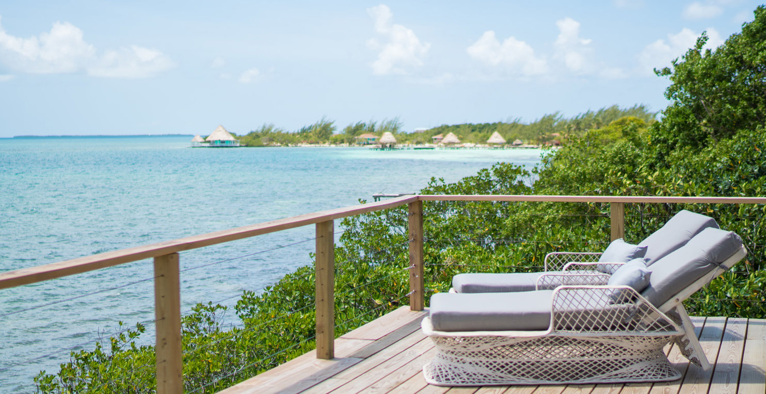 Penthouse Oceanfront Cabana Villa Rental Private Island
