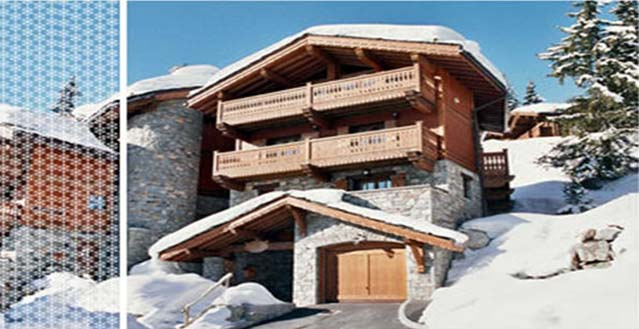 Courchevel 1850 Luxury Ski in Ski out Chalet