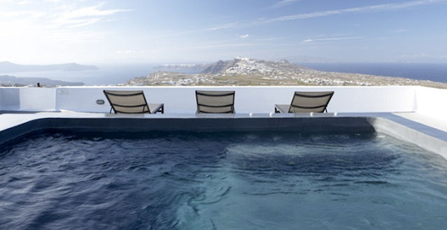 Luxury Santorini Pyrgos Greece Vacation Rental