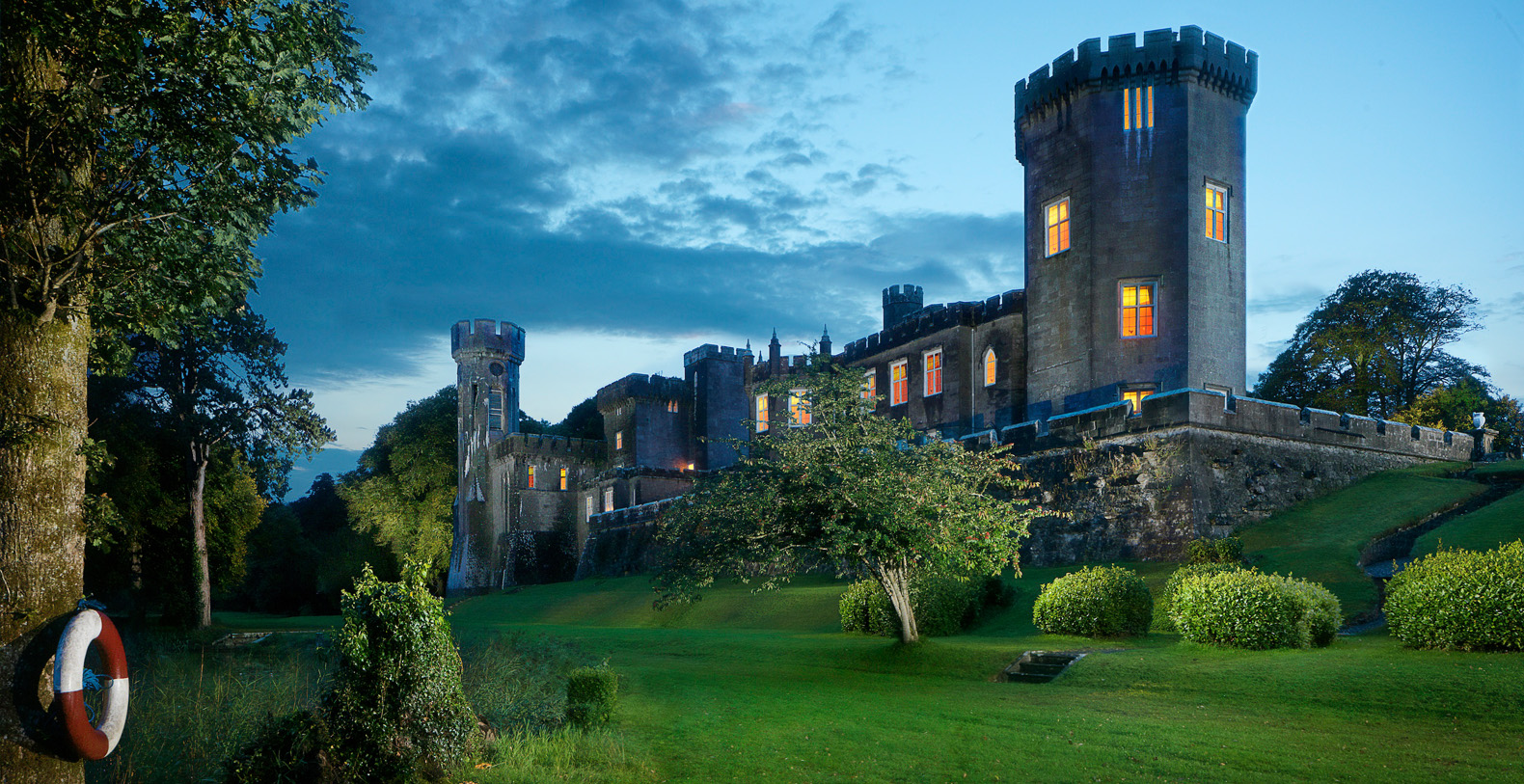 Lough Cutra Castle Ireland Holiday Rental