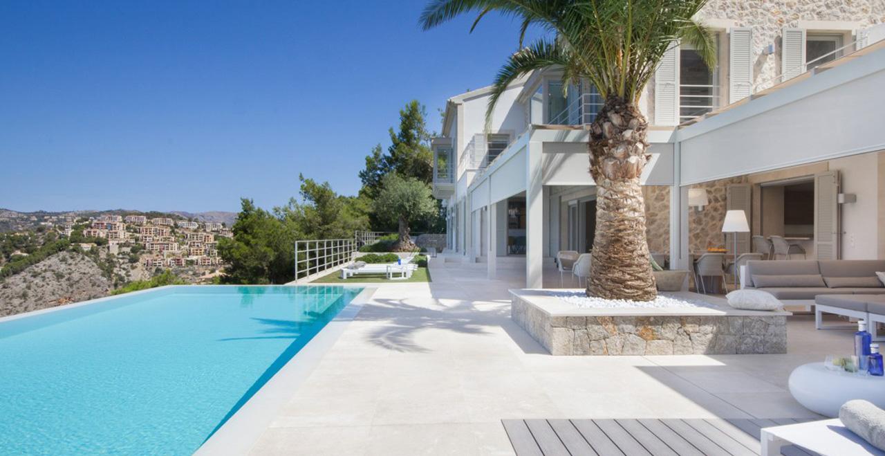 villa puesta del sol puerto andratx mallorca holiday letting vacation rentals spain. Black Bedroom Furniture Sets. Home Design Ideas