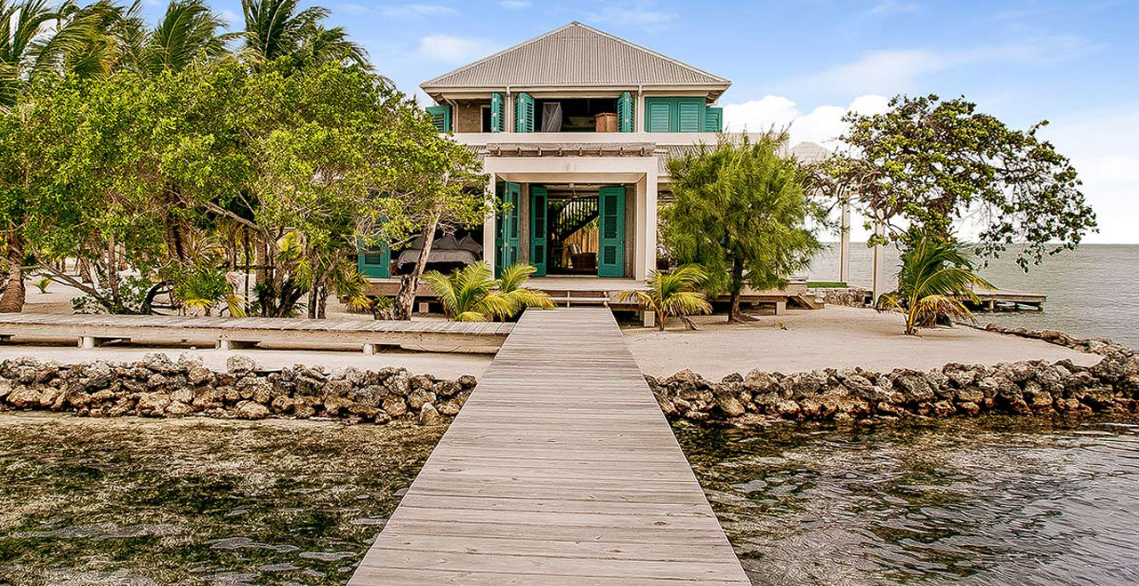 Casa Estrella Private Island Belize, Belize Private Accommodation, Island Rental Belize