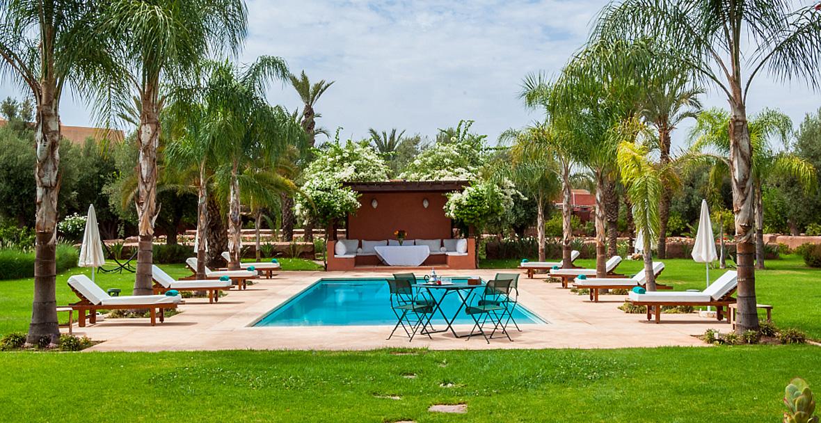 villa jardin nomade villa marrakech location d 39 une
