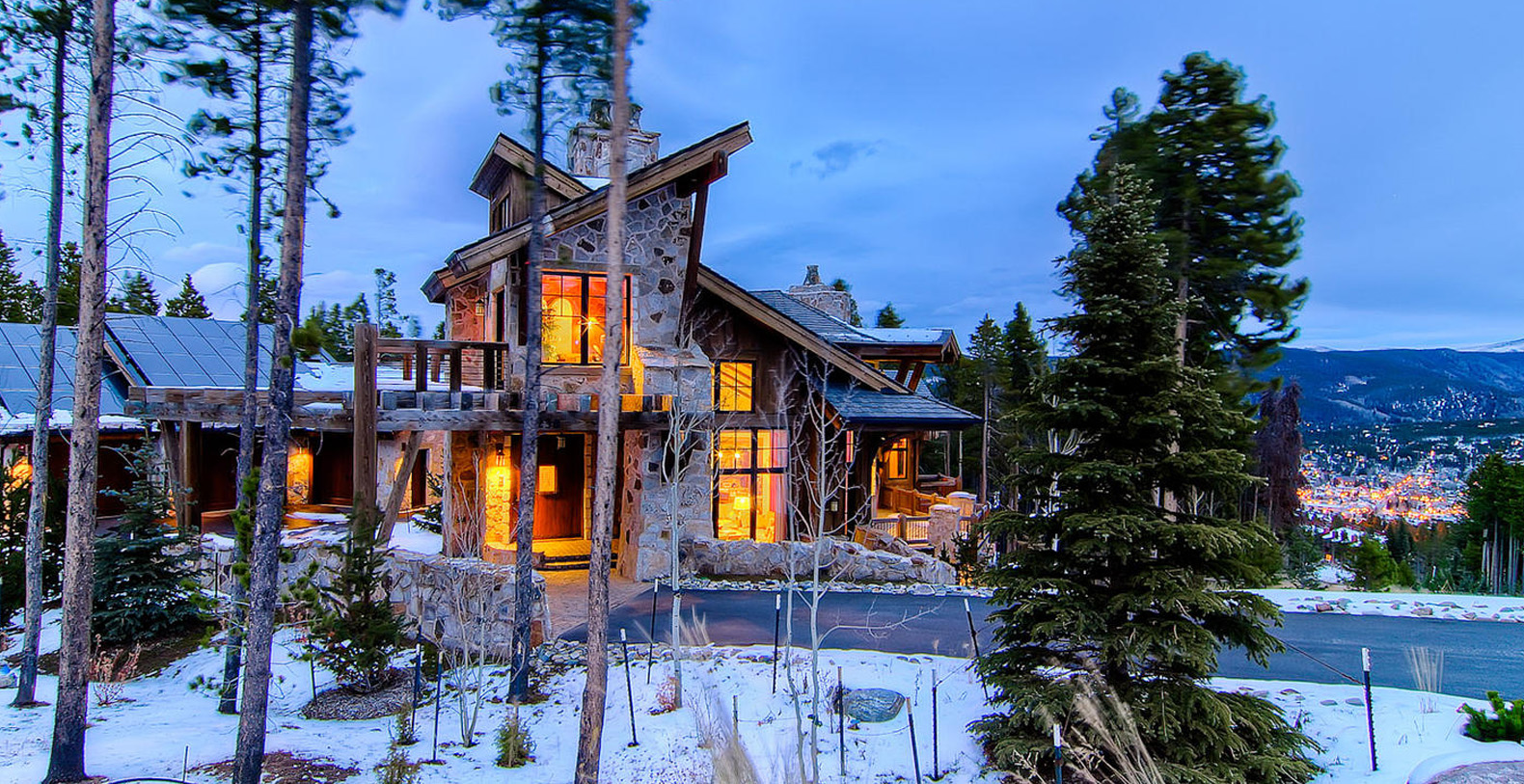 Bella villa di montagna breckenridge holiday letting for Cabina di montagna colorado