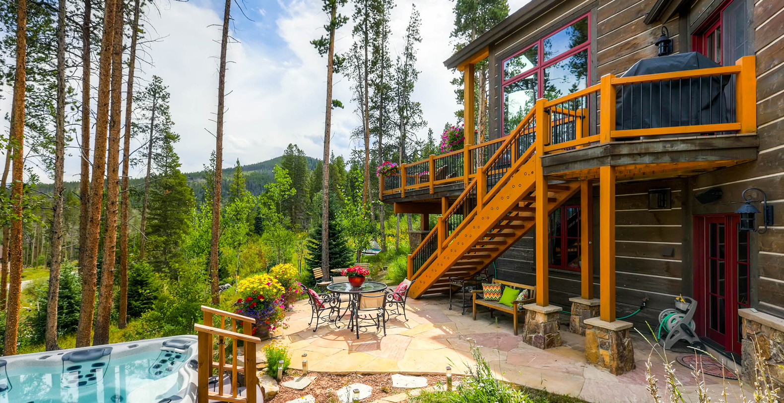 Cypress mountain chalet breckenridge holiday letting for Cabin rentals breckenridge