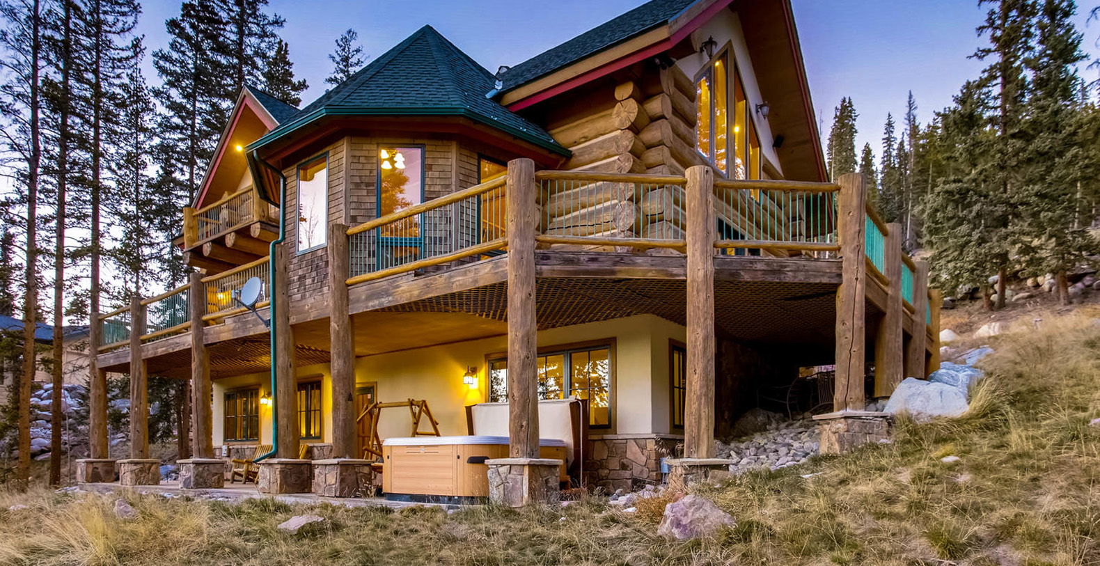 Paradise meadow lodge breckenridge holiday letting for Cabin rentals breckenridge