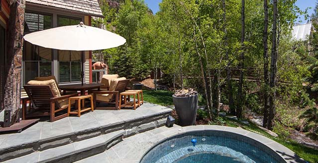 Creek residence telluride holiday letting vacation for Telluride colorado cabin rentals