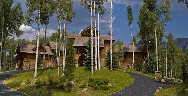 Touchdown estate telluride holiday letting vacation for Telluride cabin rental