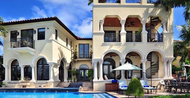 Miami Beach Mansion Rental