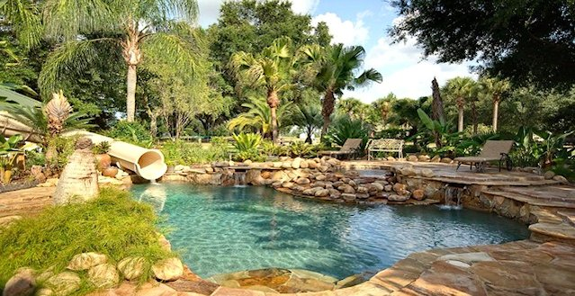 Orlando Florida Private Island Luxury Rental