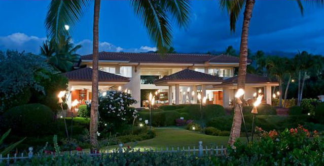 Oceanfront Mansion Rental Maui Hawaii