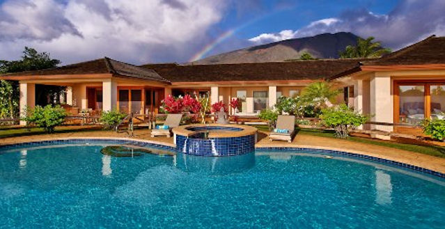 Self Catered Luxury Rental Maui Hawaii