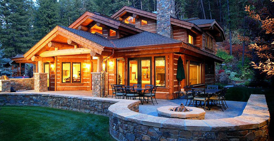 Shady Lane Villa Idaho, Luxury Vacation Rental