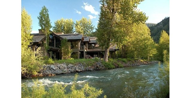 Luxury Big Wood Riverfront, Vacation Rental Sun Valley Idaho