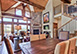 Spanish Peaks Cabin Montana Vacation Villa - Big Sky