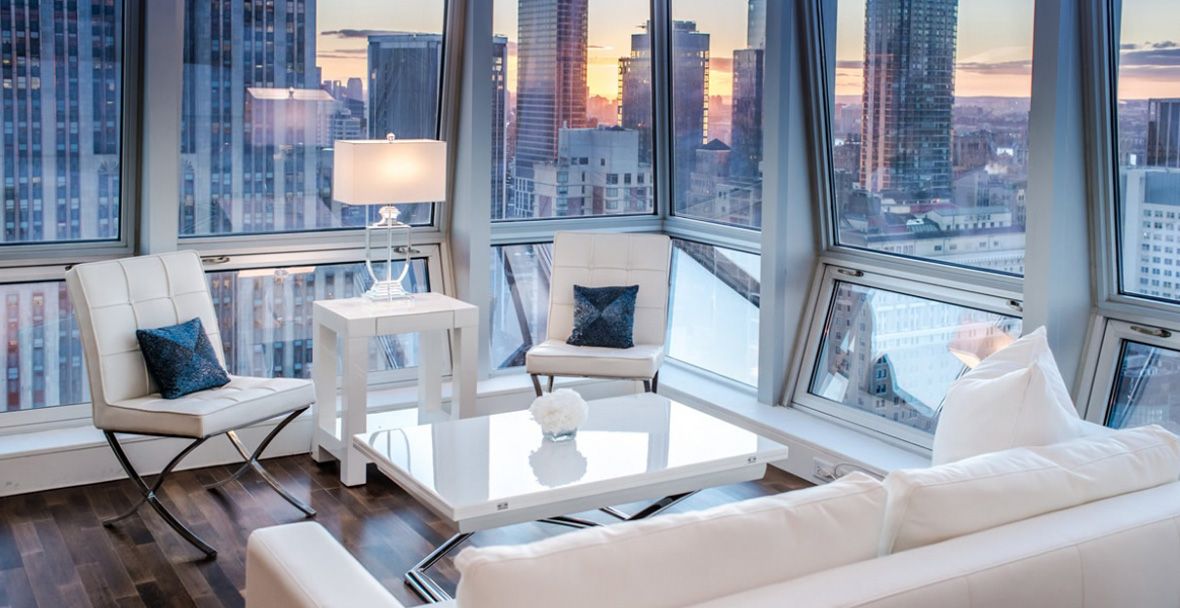 Midtown Jewel Amethyst Manhattan Luxury Apartment Rental