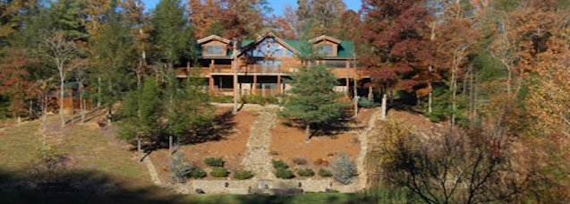 Luxury Log Cabin and Chalet Vacation Rentals in the Pigeon Forge and ...